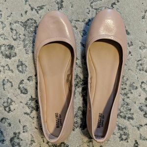 Essential nude flats